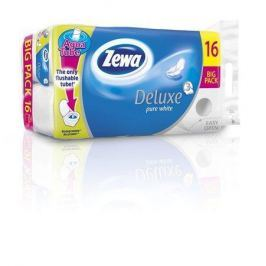 ZEWA Toaletní papír, 3vrstvý, 16 rolí,   Deluxe, bílý