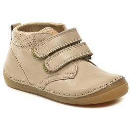 Froddo G2130132-10 Barefoot béžové dětské boty, 22