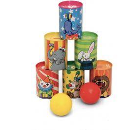 Jeujura Cirkusové plechovky s balónky