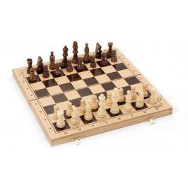 Jeujura Dřevěné šachy ve skládacím boxu