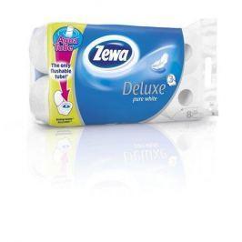 ZEWA Toaletní papír, 3vrstvý, 8 rolí,   Deluxe, bílý