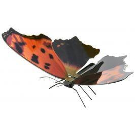 METAL EARTH 3D puzzle Motýl babočka bílé C
