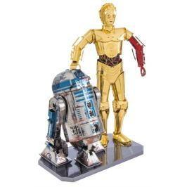 METAL EARTH 3D kovové puzzle  Star Wars: R2D2 a C-3PO (deluxe set)