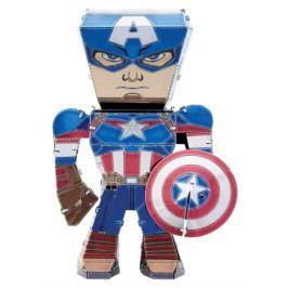METAL EARTH 3D puzzle Avengers: Kapitán Amerika figurka