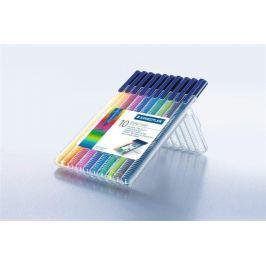 STAEDTLER Fixy Triplus color 323, 10 barev, sada, 1 mm,