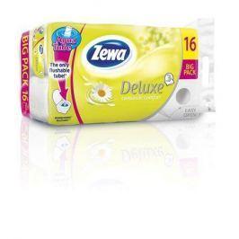 ZEWA Toilet paper, 3 ply, 16 rolls,  Deluxe, chamolile