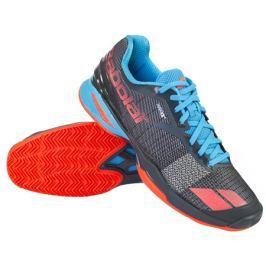 Babolat Pánská tenisová obuv  Jet AC Black/Blue, EUR 44.5 / UK 10.0 (BABOLAT)