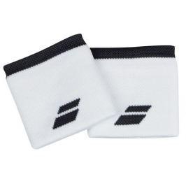 Babolat Potítka  Logo Wristband Standard White (2 ks)