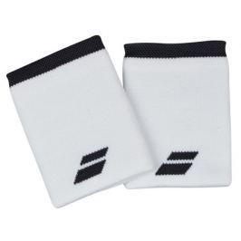Babolat Potítka  Logo Jumbo  Wristband White (2 ks)