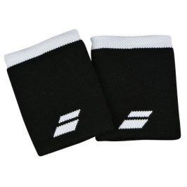 Babolat Potítka  Logo Jumbo Wristband Black (2 ks)