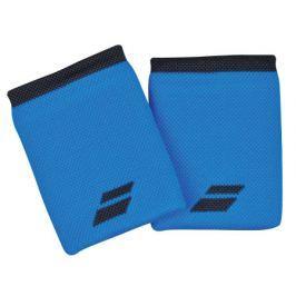 Babolat Potítka  Logo Jumbo Wristband Blue (2 ks)