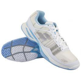 Babolat Dámská tenisová obuv  Jet Mach I All Court White/Blue, EUR 36.5 / UK 4.0 (BABOLAT)