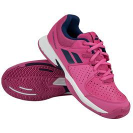 Babolat Juniorská tenisová obuv  Pulsion All Court JR Pink/Blue, EUR 36.0 / UK 3.5 (BABOLAT)