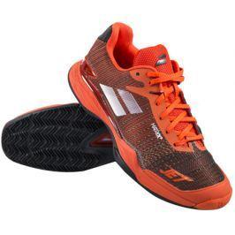 Babolat Pánská tenisová obuv  Jet Mach II Clay Black/Orange, EUR 41.0 / UK 7.5 (BABOLAT)