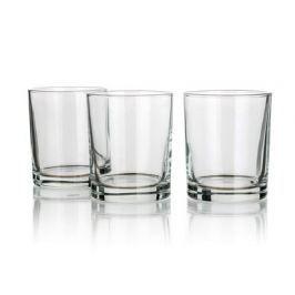 BANQUET Sada sklenic na whisky TINA 240 ml, 3 ks