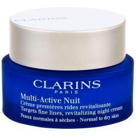 Clarins Revitalizační noční krém proti jemným vráskám pro normální a suchou pleť Multi-Active (Revit