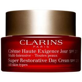 Clarins Omlazující denní krém pro všechny typy pleti SPF 20 Super Restorative 50 ml