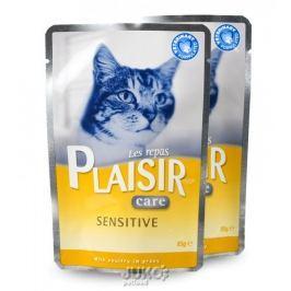 Plaisir Care Cat kapsička 85g Sensitive-13663, 4ks