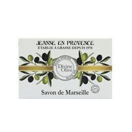 Jeanne En Provence Luxusní tuhé mýdlo Oliva 200 g