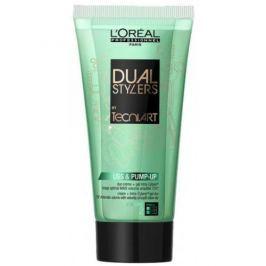 Loreal Professionnel Dvousložkový gel krém pro objem vlasů (Dual Stylers Liss & Pump Up Duo Creame +