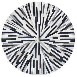 Tempo Kondela Luxusní koberec, kůže, typ patchworku, 200x200 cm, KOBEREC KOŽA typ8