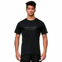 Butterfly Pánské tričko  Stripe Black, L