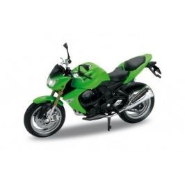 Welly - Motocykl Kawasaki Z1000 model 1:18 zelená