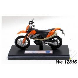 Welly - Motocykl KTM 690 Enduro model 1:18 oranžový