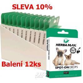 Herba Max Spot-on Dog&Cat 5x1ml-12KS