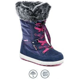 Kamik Petra navy modré dívčí zimní boty, 30