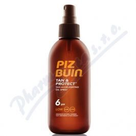 JOHNSON PIZ BUIN SPF6 Tan+Protect Oil Spray 150ml