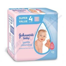 JOHNSON`S Baby JOHNSONS gentle all over dětské vlh. ubr. 224 ks