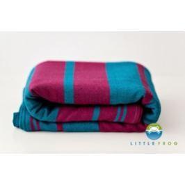 LITTLE FROG Tkaný šátek na nošení dětí -  CHAROIT, XL