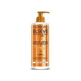 Loreal Paris Pečující mycí krém na vlasy Elseve Extraordinary Oil (Low Shampoo Gentle Cleansing Crea
