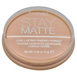 Rimmel Matující kompaktní pudr Stay Matte 14 g 001 Transparent