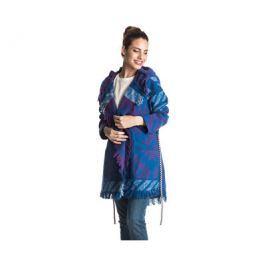 Roxy Dámský kabátek Santa J Jckt Outlands Palace Blue ERJJK03144-BMB6, S