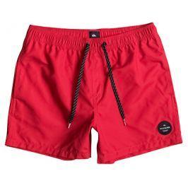 Quiksilver Pánské koupací šortky Everyday Solid Volley 15 Quick Red EQYJV03200-RQR0, M