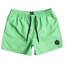 Quiksilver Pánské koupací šortky Everyday Solid Volley 15 Green Gecko EQYJV03200-GGY0, M