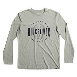 Quiksilver Triko Lsclassictemadw Slate Gray EQYZT04561-GHR0, S