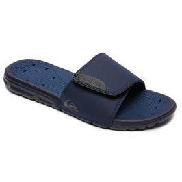 Quiksilver Pánské pantofle Amphibian Slide Adjust Black/Blue/Grey AQYL100556-XKBS, 46