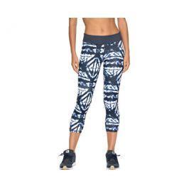Roxy Dámské fitness legíny Natural Twist Capri Dress Blue Geometric Feeling ERJWP03014-BTK6, L