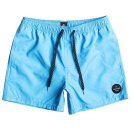 Quiksilver Pánské koupací šortky Everyday Solid Volley 15 Bonnie Blue EQYJV03200-BJB0, S