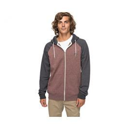 Quiksilver Mikina Everyday Zip Marron Heather EQYFT03429-CQDH, S