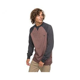 Quiksilver Mikina Everyday Crew Marron Heather EQYFT03427-CQDH, XXL