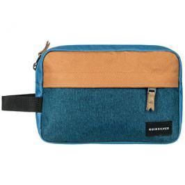 Quiksilver Cestovní kosmetická taška Chamber Blue Nights Heather EQYBL03127-BSTH