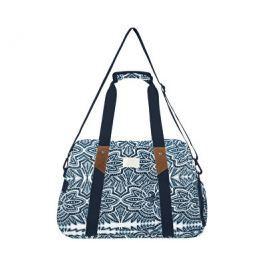 Roxy Cestovní taška Sugar It Up Marshmallow Tribal Vibes Stripe ERJBP03652-WBT4