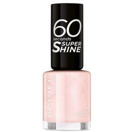 Rimmel Lak na nehty 60 Seconds Super Shine 8 ml 740 Clear (bezbarvý)