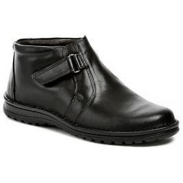 Bukat 233 černé pánské zimní boty, 40