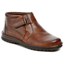 Bukat 233 hnědé pánské zimní boty, 40