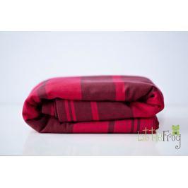 LITTLE FROG Tkaný šátek na nošení dětí - Pyrope, XL